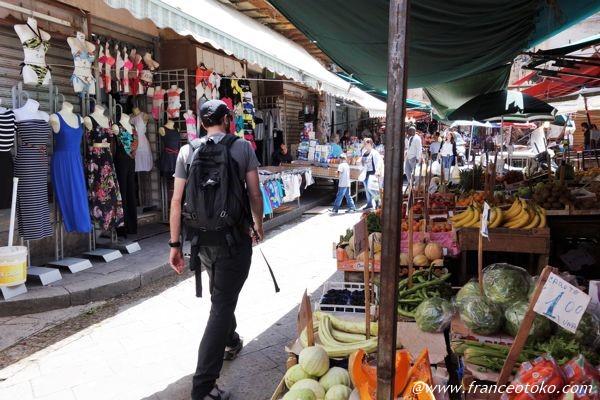 シチリア 市場