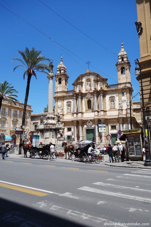 シチリア 教会