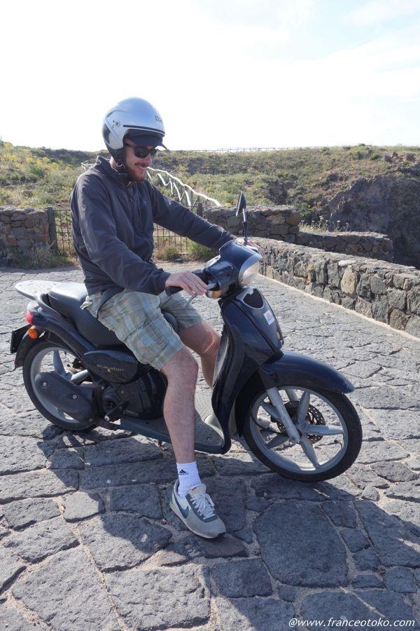 フランス人 バイク