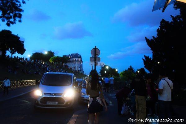 パリ 夜散歩