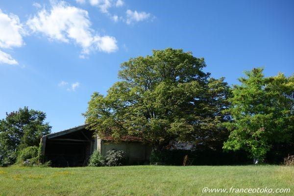 フランス 南西部 自然の中の家