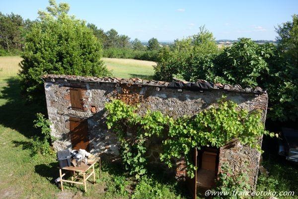 フランス 自然の中の一軒家