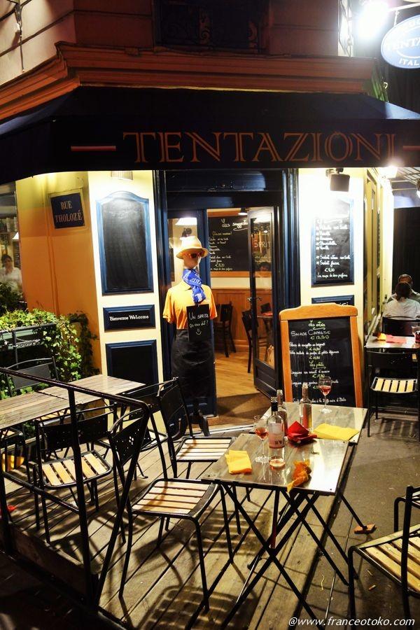 パリ サクレクール レストラン