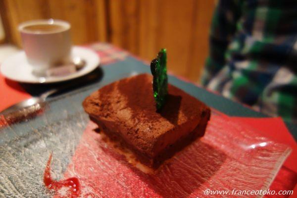 フランス チョコレートケーキ