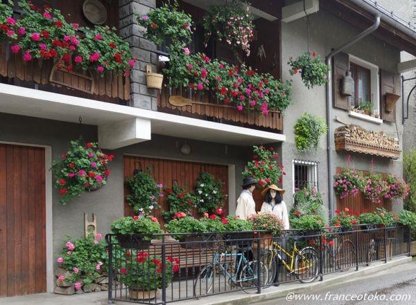 フランス 花の家