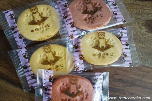 ハチ公クッキー