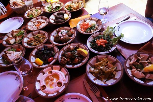 レバノン料理 パリ