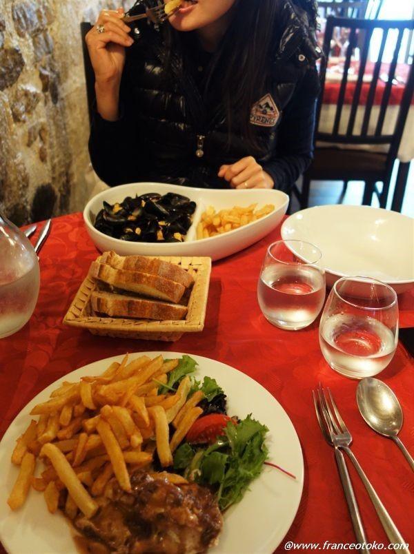 ムール貝 フランス レストラン