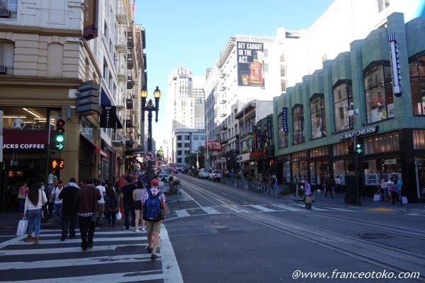 サンフランシスコ ユニオンスクエア