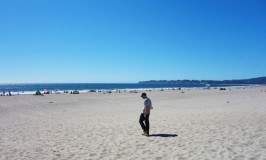 カリフォルニア!スティンソンビーチのまばゆい海とカレントエリオット