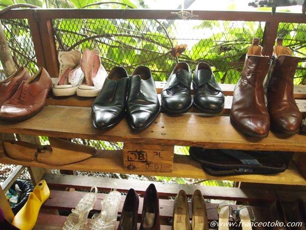 ヴィンテージ 靴 パリ