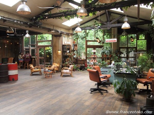 サンマルタン パリ カフェ