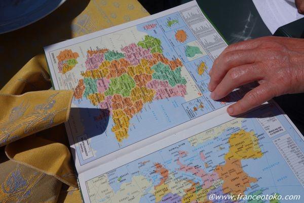 フランス 地図