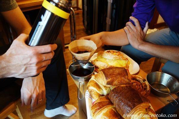 フランス 朝食パン