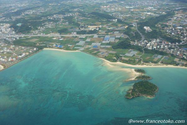 沖縄 上空 海