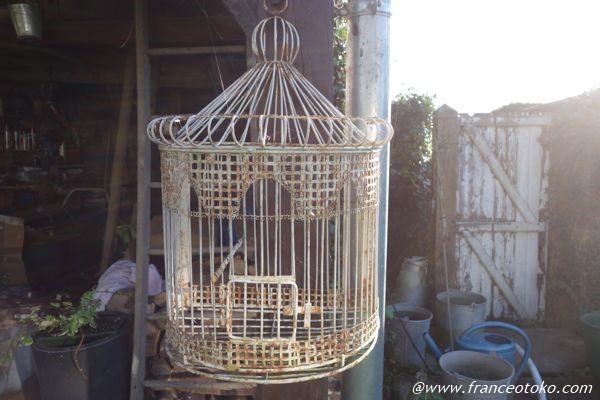 アンティーク 鳥かご