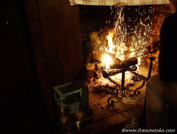 暖炉 フランス