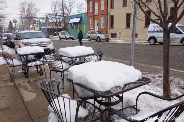 アメリカ 積雪