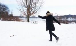 ミシガン州で雪デート!クリームソーダの甘い冬