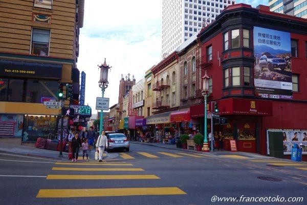 サンフランシスコ チャイナタウン