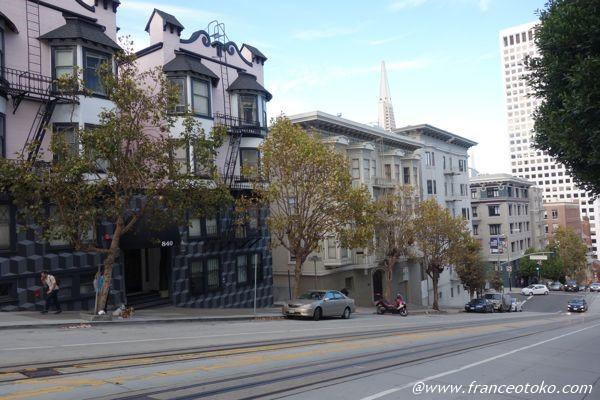 サンフランシスコ かわいい家