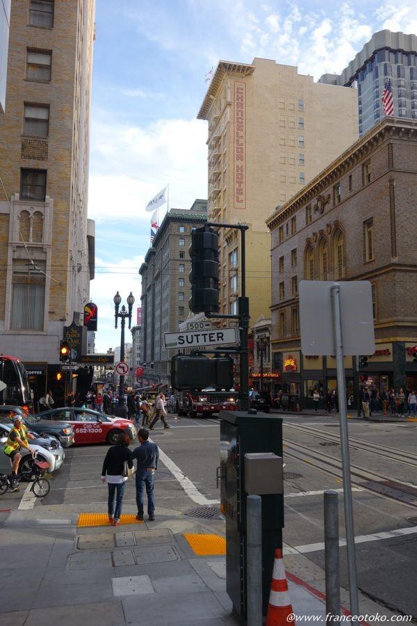 サンフランシスコ 繁華街
