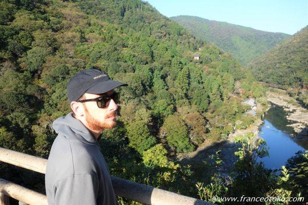 嵐山 フランス人