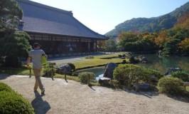 天龍寺で龍に会い、御髪神社で髪を祈るハッピー京都嵐山観光