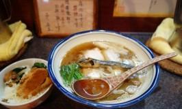烈志笑魚油 麺香房 三く☆大阪福島のとびきりエレガントなラーメン