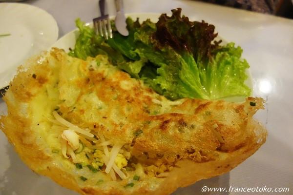 ベトナム料理 オムレツ