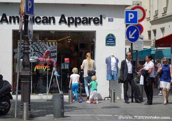 アメリカンアパレル パリ