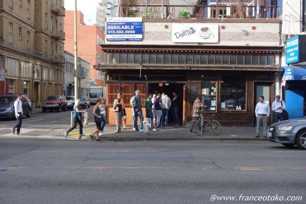 Dottie's True Blue Cafe  サンフランシスコ おいしいレストラン