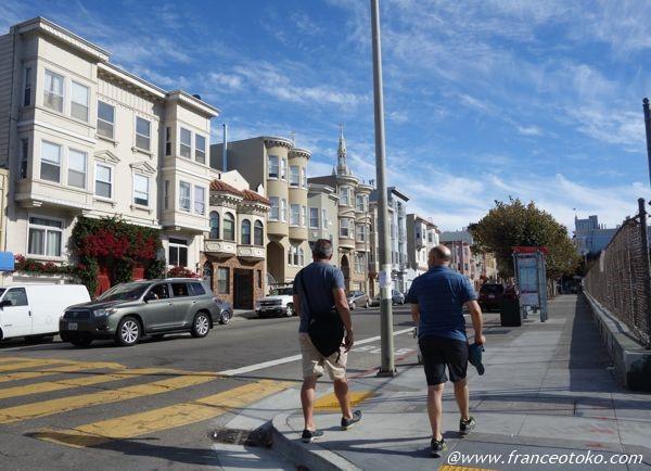 サンフランシスコ 住宅街