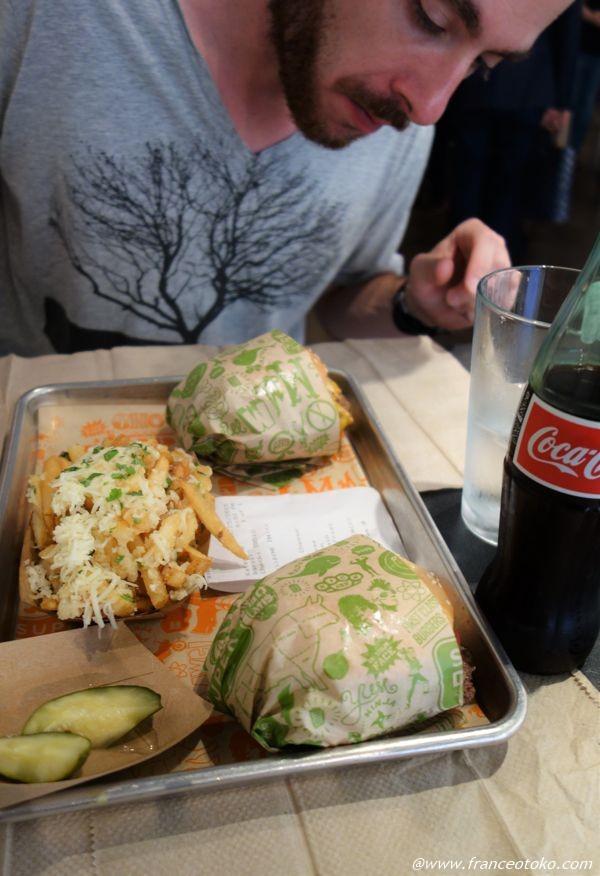サンフランシスコ 行列ハンバーガー