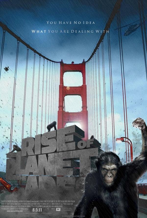 猿の惑星 ゴールデンゲートブリッジ