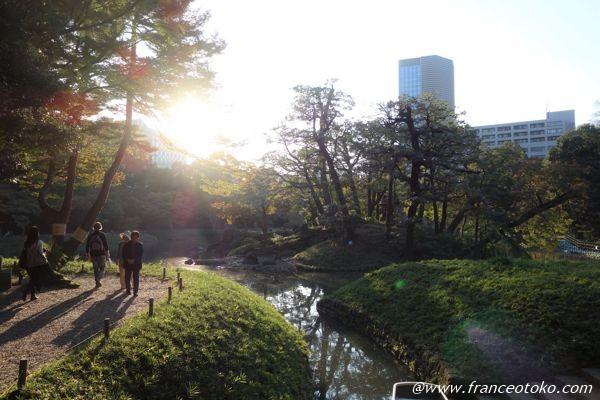 東京 文化財庭園