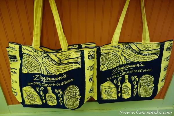 Zingerman's Deli bag アメリカ エコバッグ