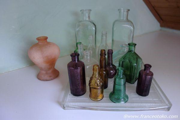 フランス ガラス瓶