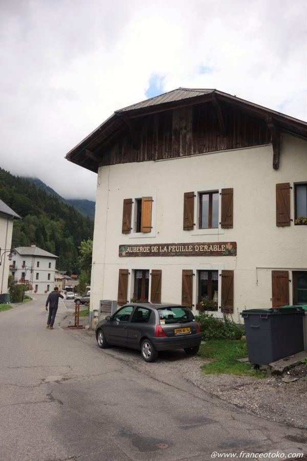 フランス 山小屋レストラン