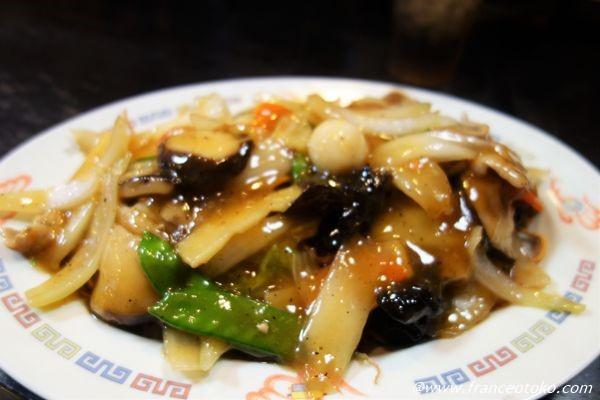 アサヒ軒 パリパリ麺