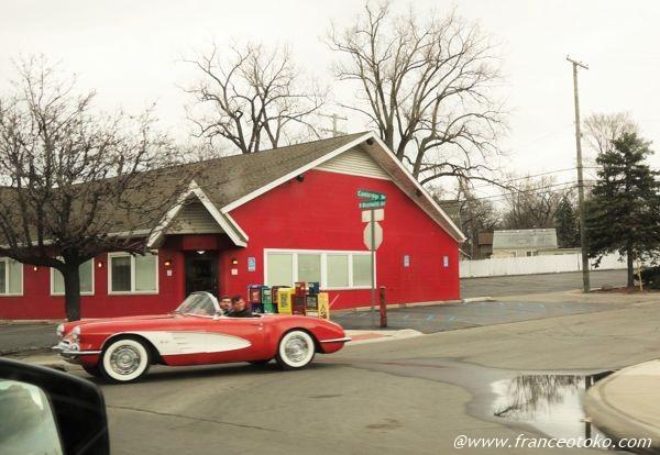 アメリカ レトロな車