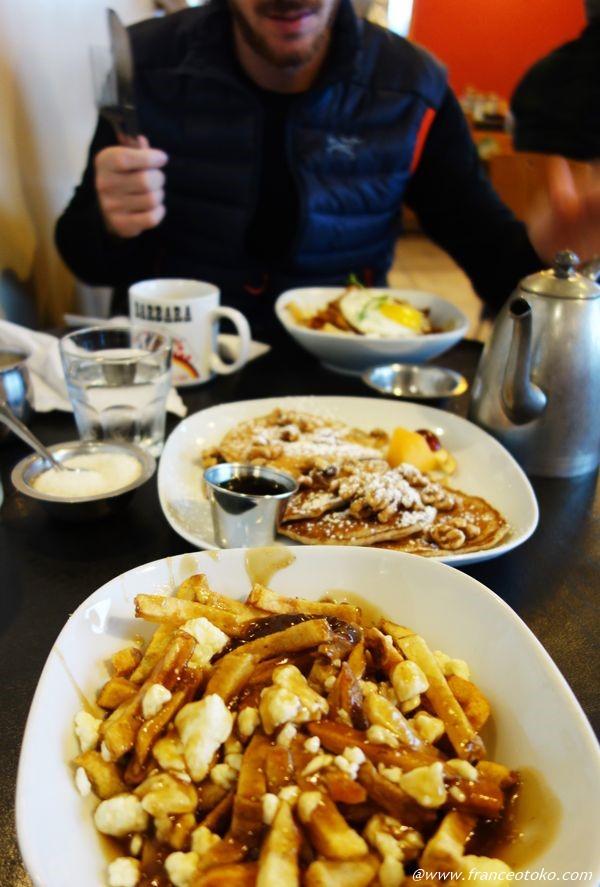 プーティン カナダ料理