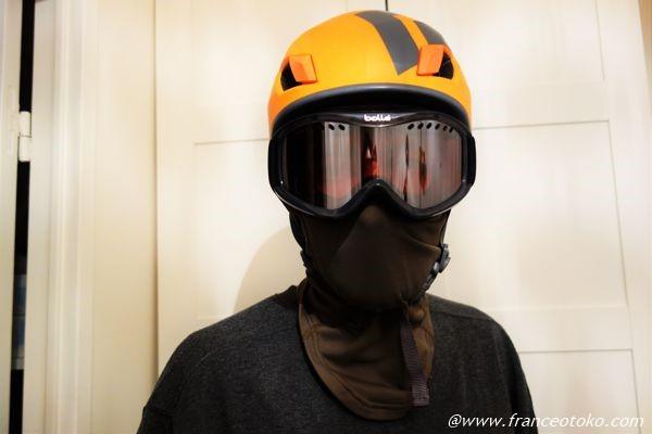 山 ヘルメット