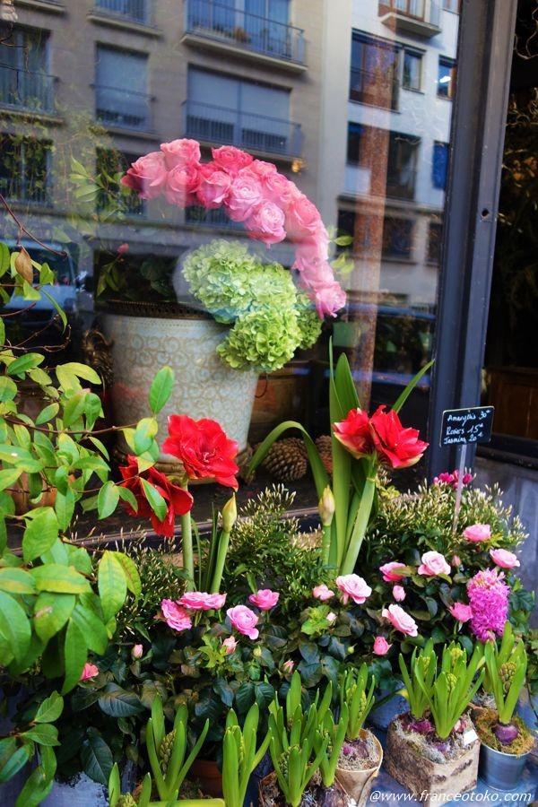パリ 花屋