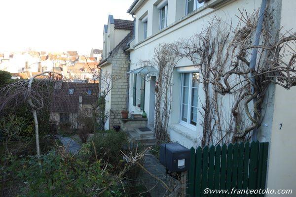 フランス かわいい家