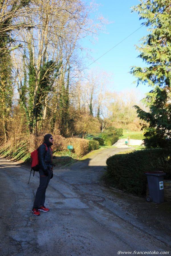 パリ郊外 ハイキングコース