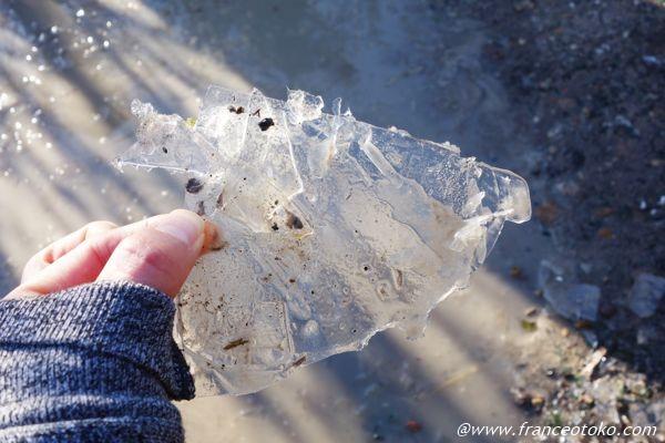 氷 ガラス風