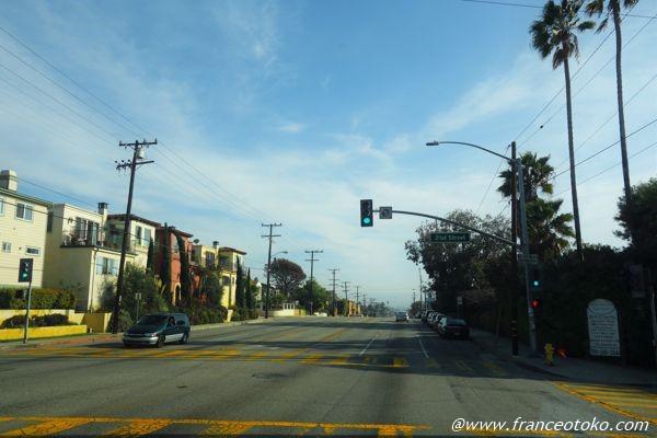 ロサンゼルス 道路