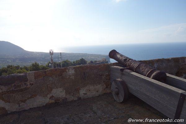 シチリア 要塞