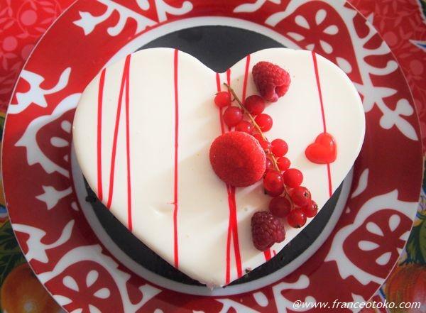 フランス バレンタインケーキ